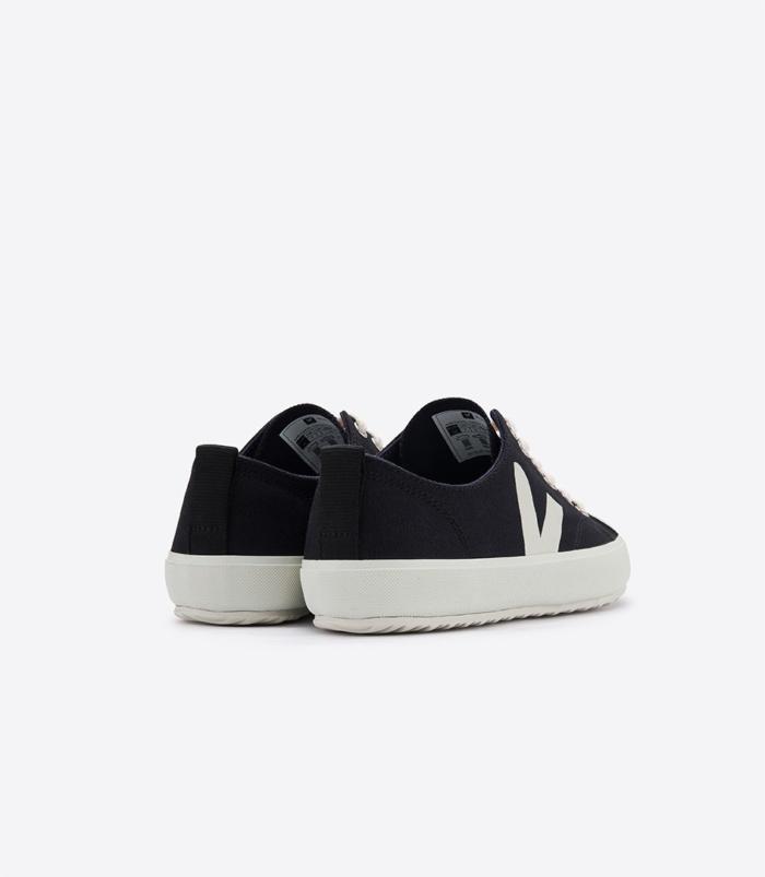 Veja - Nova Vegan Canvas Sneaker, Black Pierre