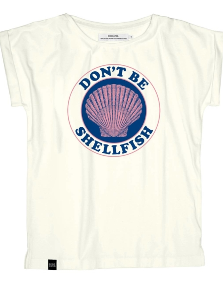 Dedicated - Shellfish T-Shirt, Off-White