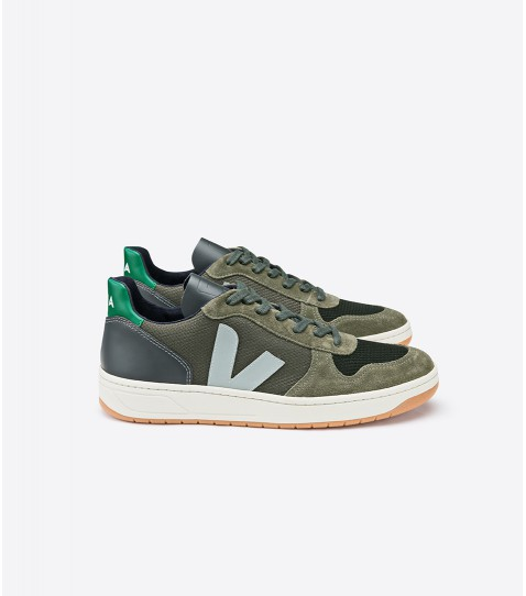 Veja - V10 B-Mesh Sneaker, Multico Olive Emeraude