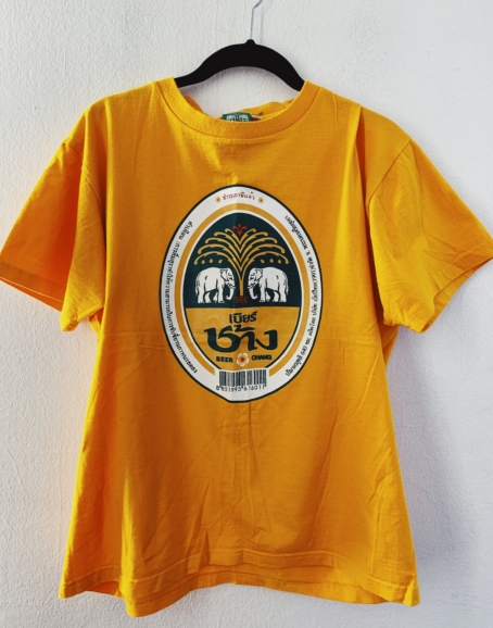 Ecosphere Vintage - Chang Beer Yellow Tee