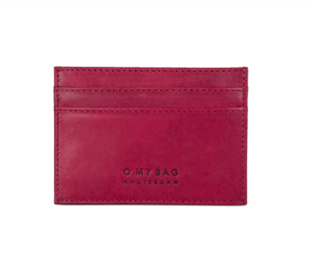 O My Bag - Mark's Cardcase, Ruby