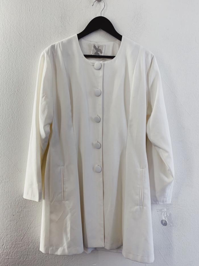 Ecosphere Vintage - White Retro Coat