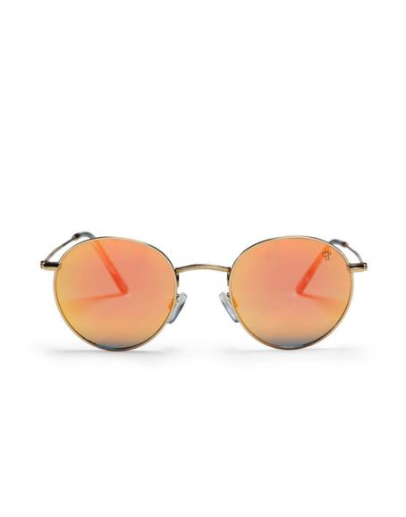 CHPO - Liam Sunglasses, Gold/Coral