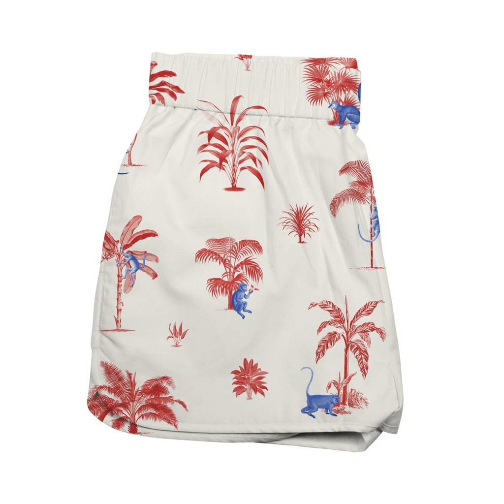 Dedicated - Tencel Shorts, Monkey Trees
