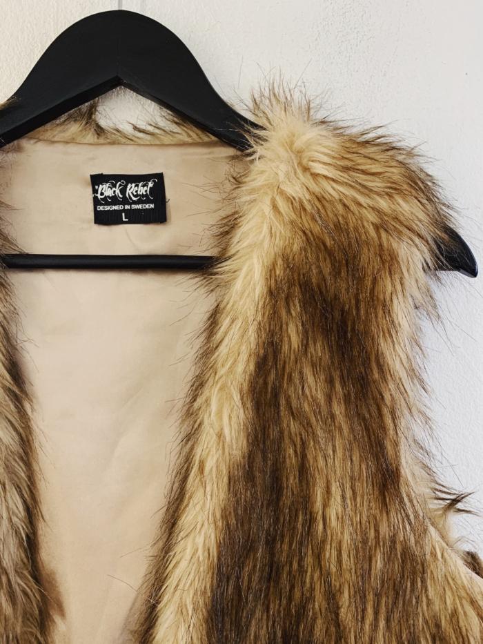 Ecosphere Vintage - Fluffy Fake Vest