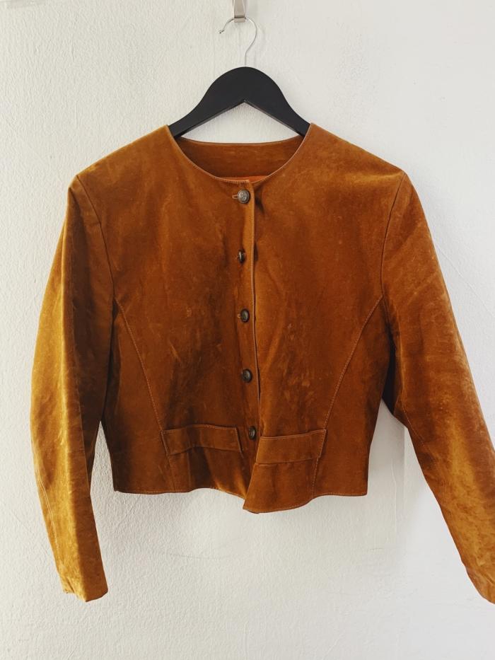 Ecosphere Vintage - Retro Fake Suede Jacket