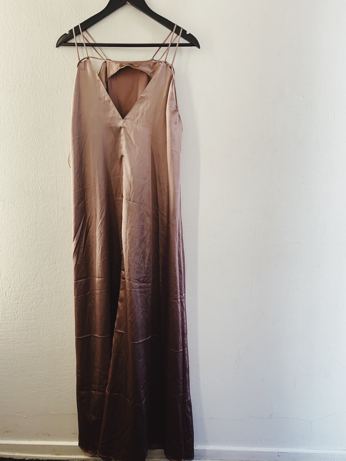 Ecosphere Vintage - Long Silky Dress