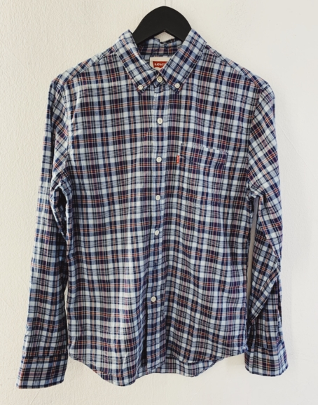 Ecosphere Vintage - Levi's Blue Checkered Shirt