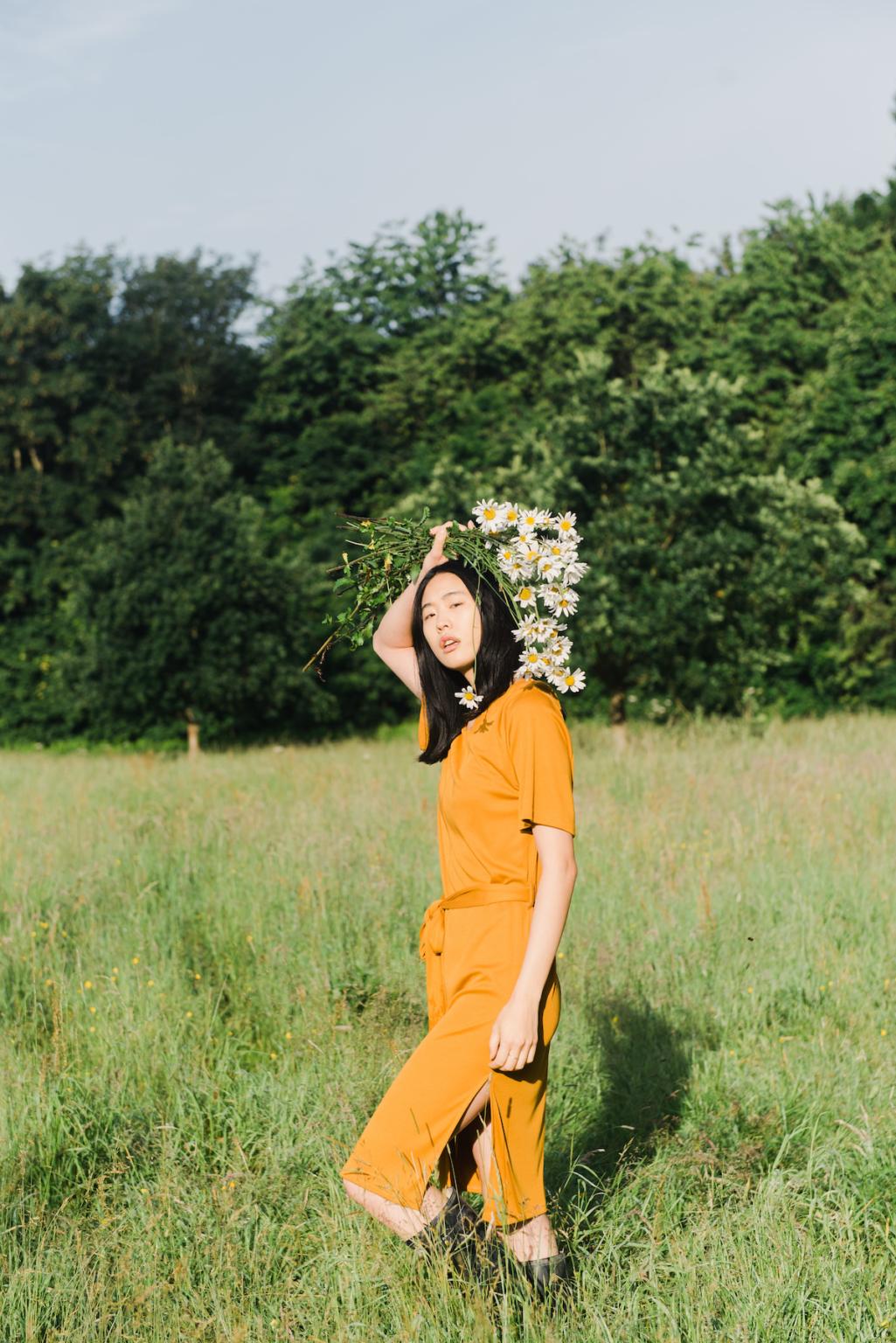Beaumont Organic - Juliet-Lou Lyocell Bronze Dress
