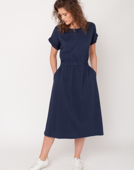 Beaumont Organic - Marissa Dress, Midnight