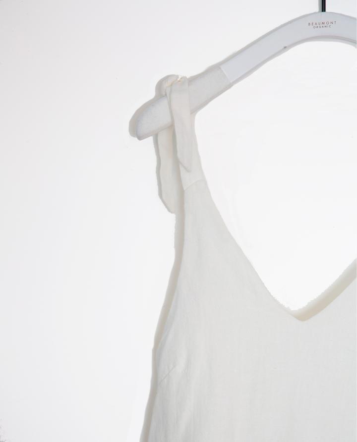 Beaumont Organic - Emma-May Linen Tie Strap Top