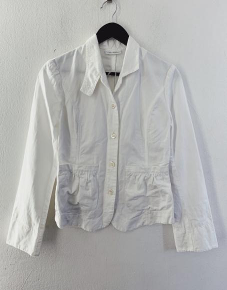 Ecosphere Vintage - White Linen Jacket