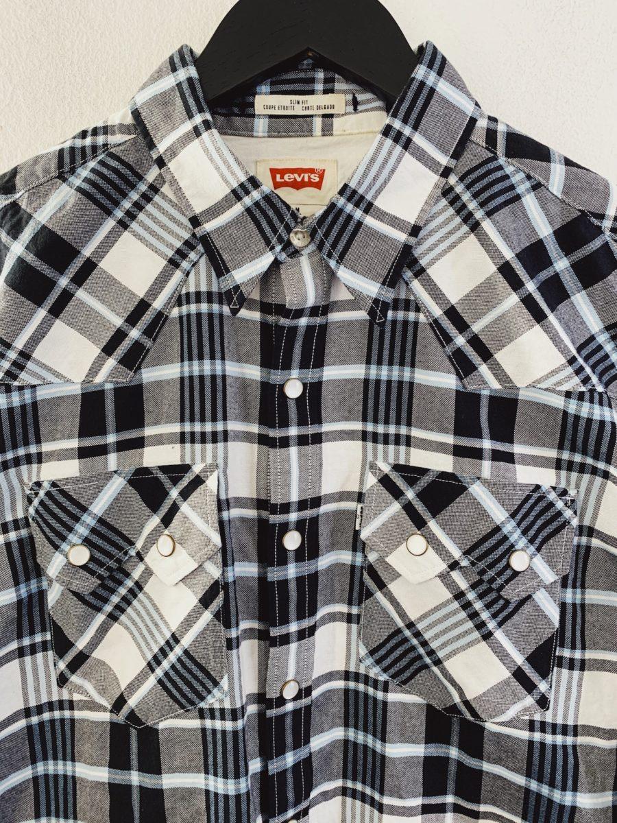 Ecosphere Vintage - Light Checkered Levi's Shirt