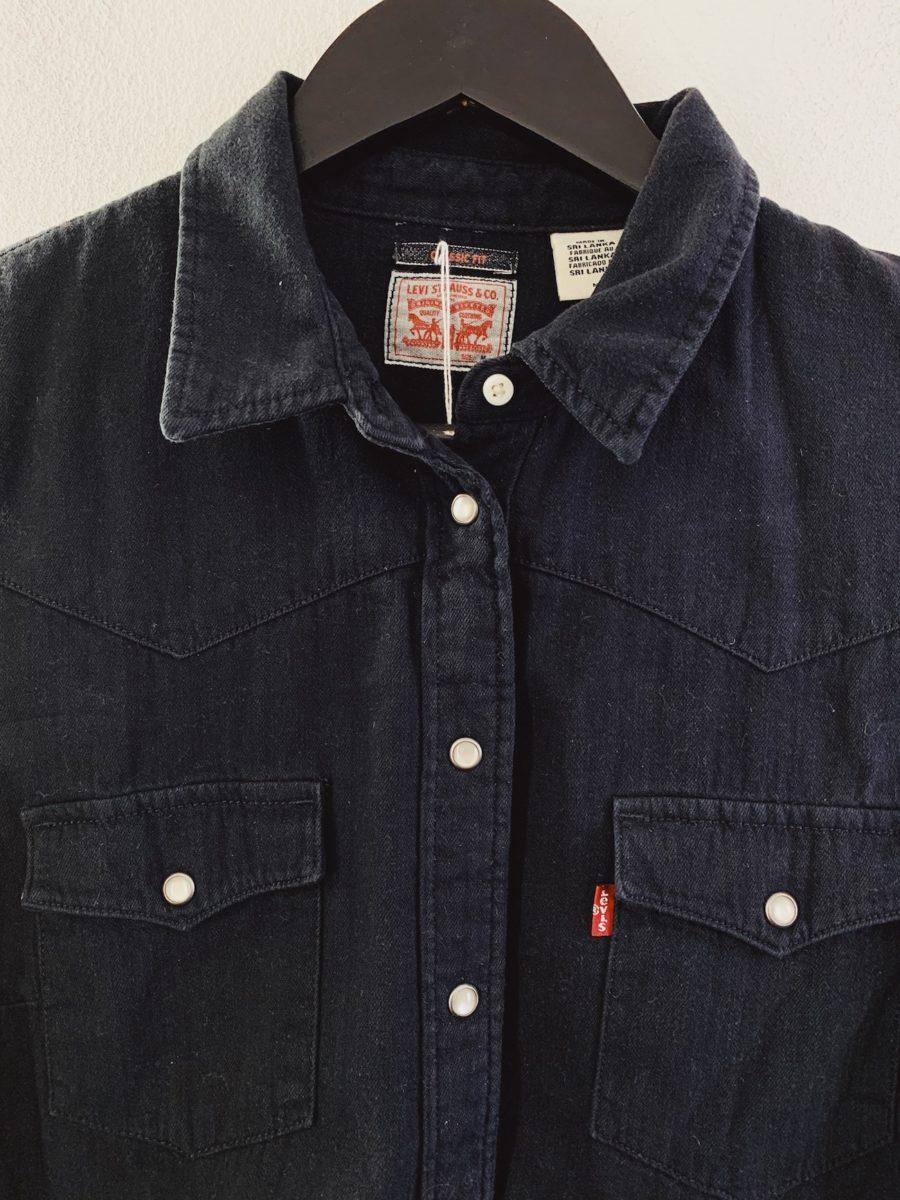 Ecosphere Vintage - Black Levi's Denim Shirt