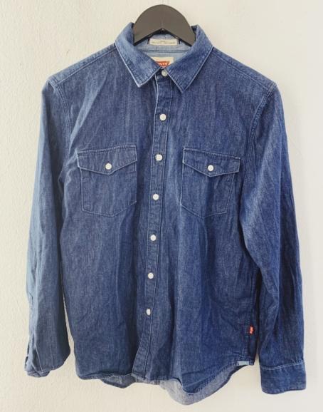 Ecosphere Vintage - Levi's Dark Blue Denim Shirt