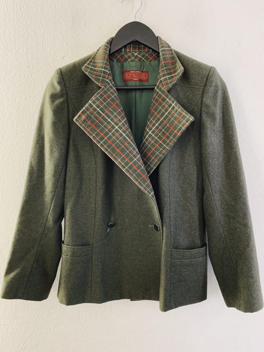 Ecosphere Vintage - Green Wool Jacket