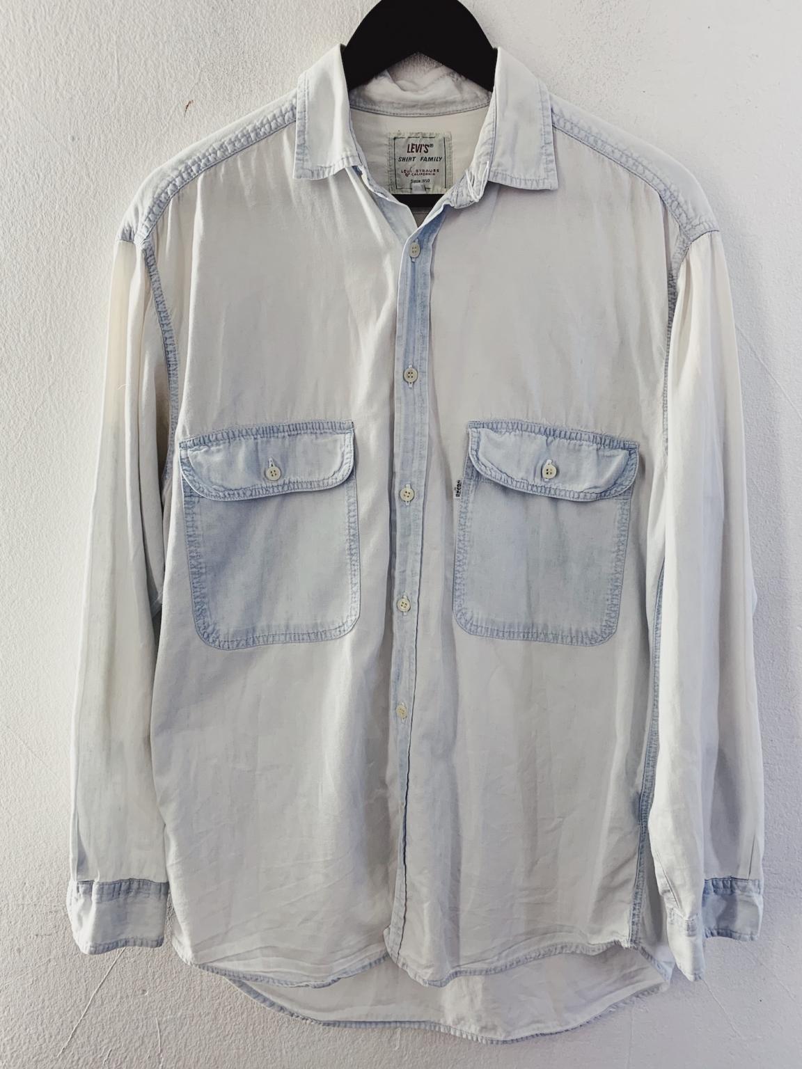 Ecosphere Vintage - Levi's Oversized Light Shade Denim Shirt