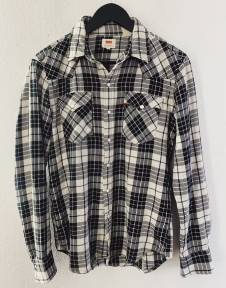 Ecosphere Vintage - Levi's Green Checkered Flannel