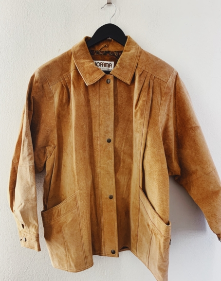 Ecosphere Vintage - Retro Suede Jacket