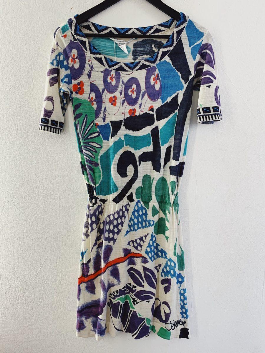 Ecosphere Vintage - Diane Von Furstenberg Patterned Dress