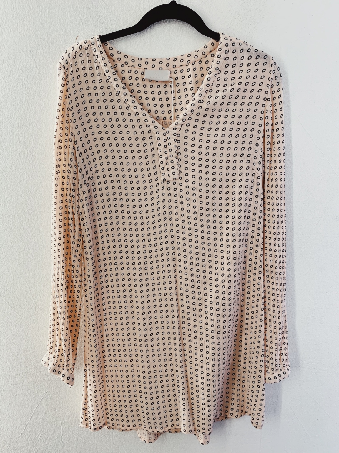 Ecosphere Vintage - Patterned Pink Tunic