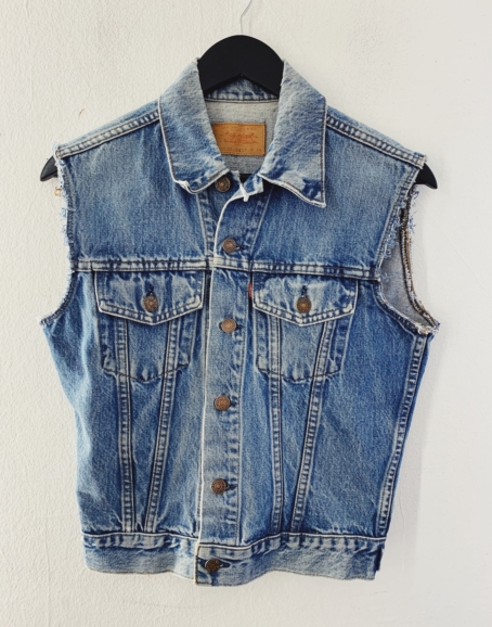 Ecosphere Vintage - Levi's Mid Shade Denim Vest