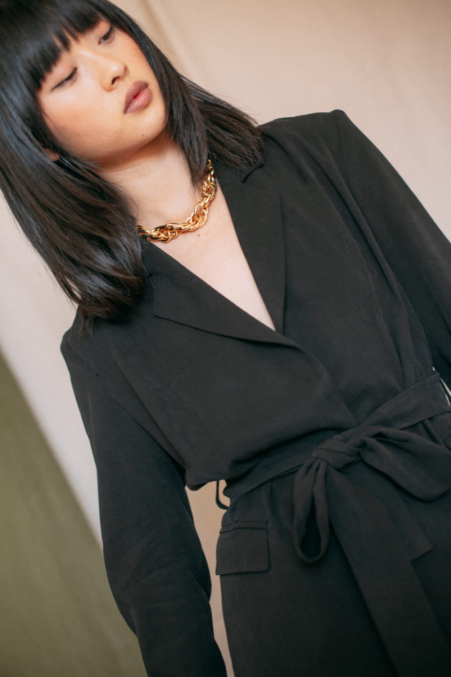 Cossac - Black Tie Blazer Jacket