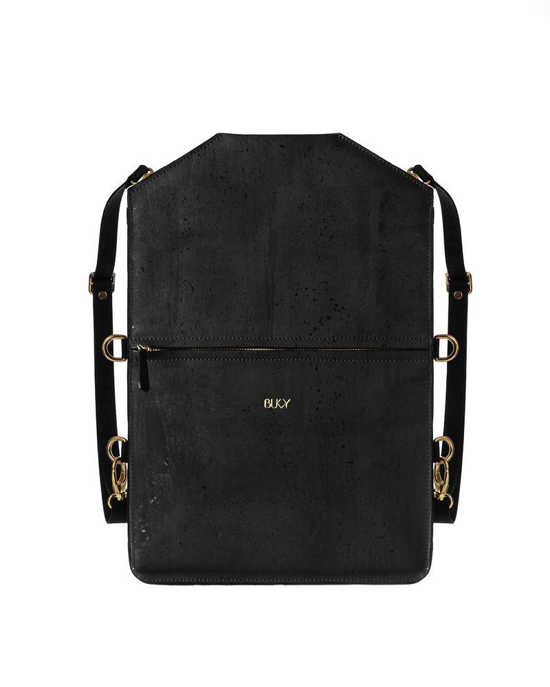 Bukvy - Bo Bardi 5-i-1 väska, svart kork