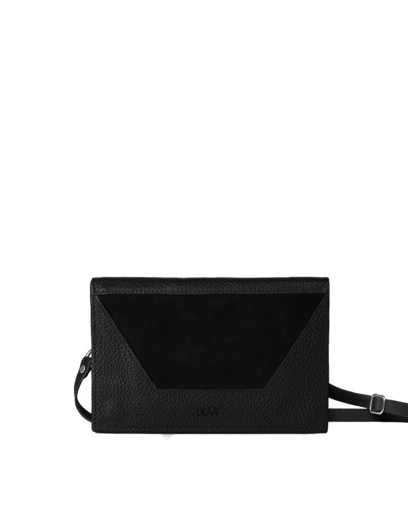 Bukvy - Shikibu 4-i-1 väska, svart läder