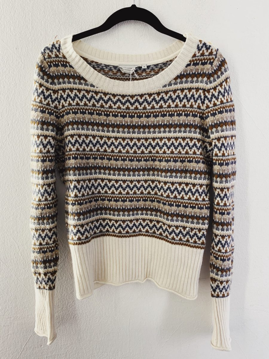 Ecosphere Vintage - Boomerang Knitted Sweater