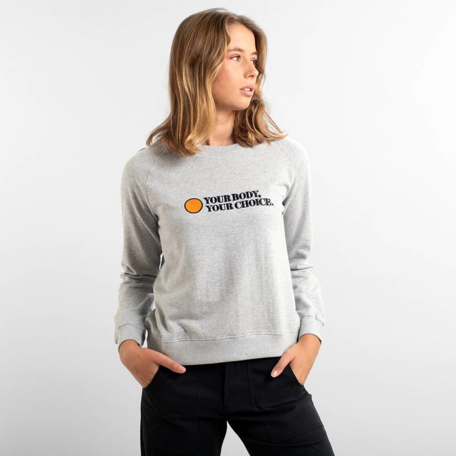 Dedicated - Your Body Sweatshirt