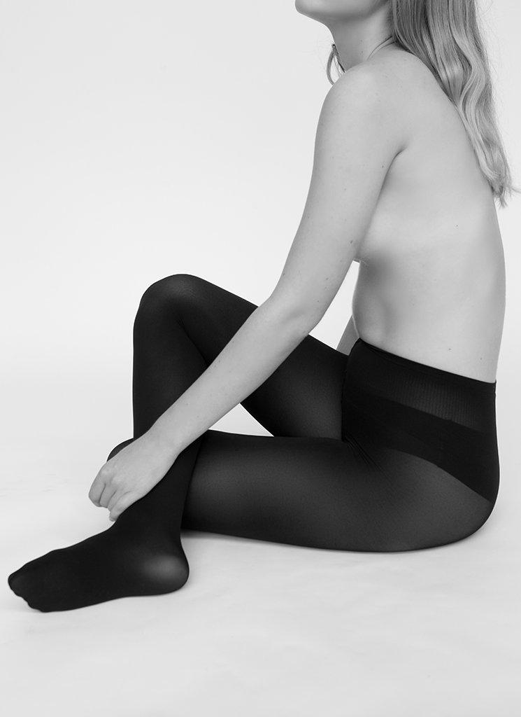 Swedish Stockings - Lia Tights, Black