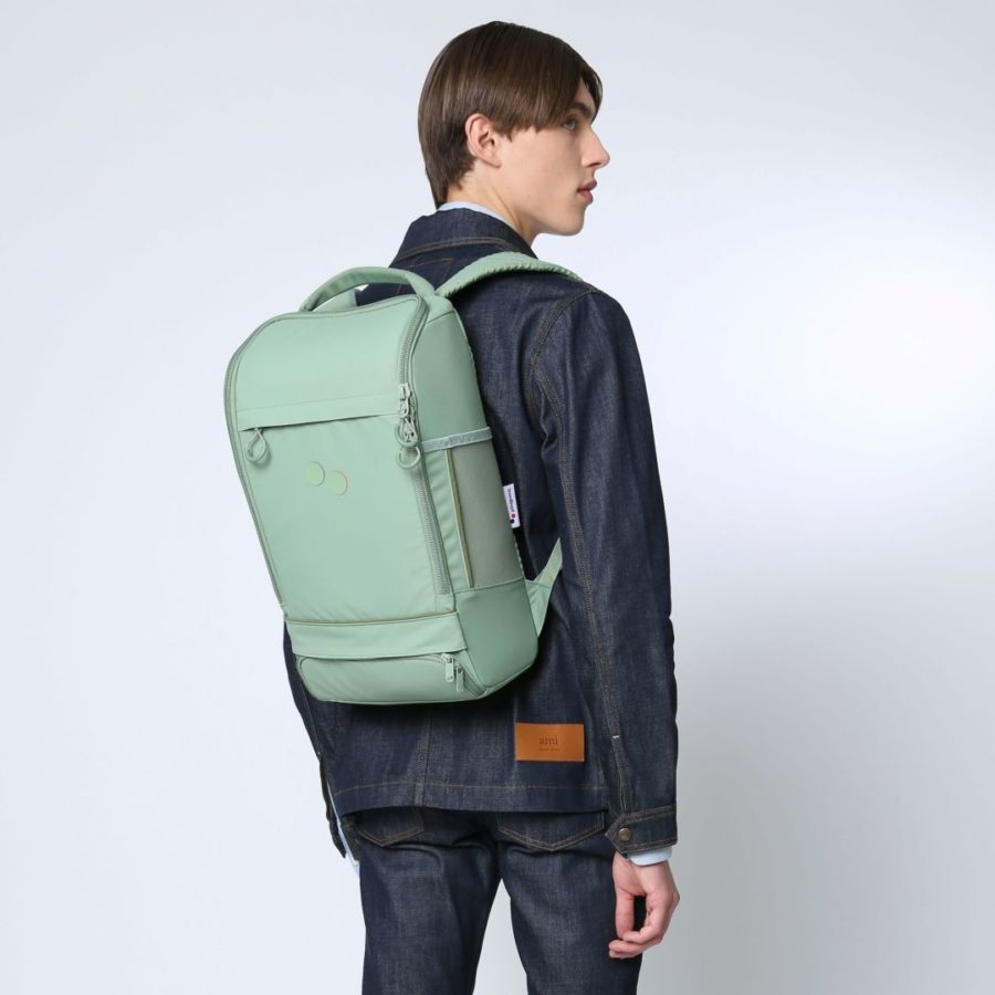 Pinqponq - Cubic Medium Backpack, Bush Green