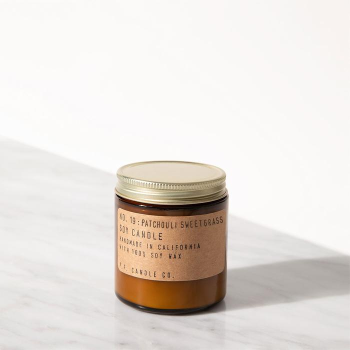 P.F. Candle Co. - Patchouli & Sweetgrass Soy Candle