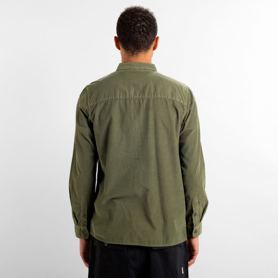 Dedicated - Green Corduroy Shirt