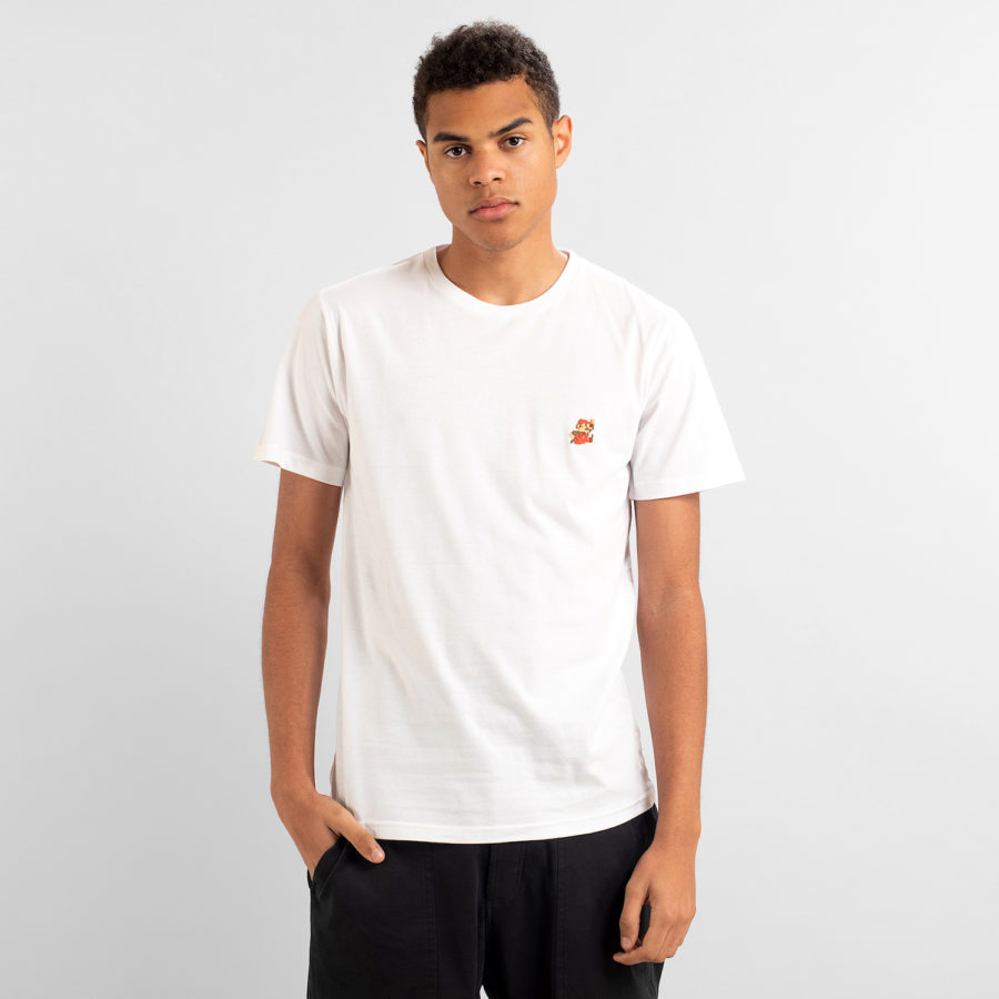 Dedicated - Super Mario White T-Shirt