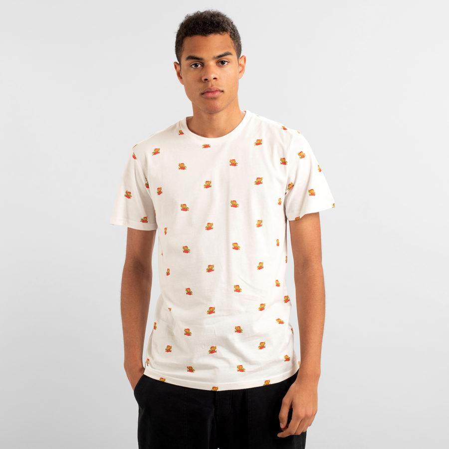 Dedicated - Super Mario Pattern T-Shirt