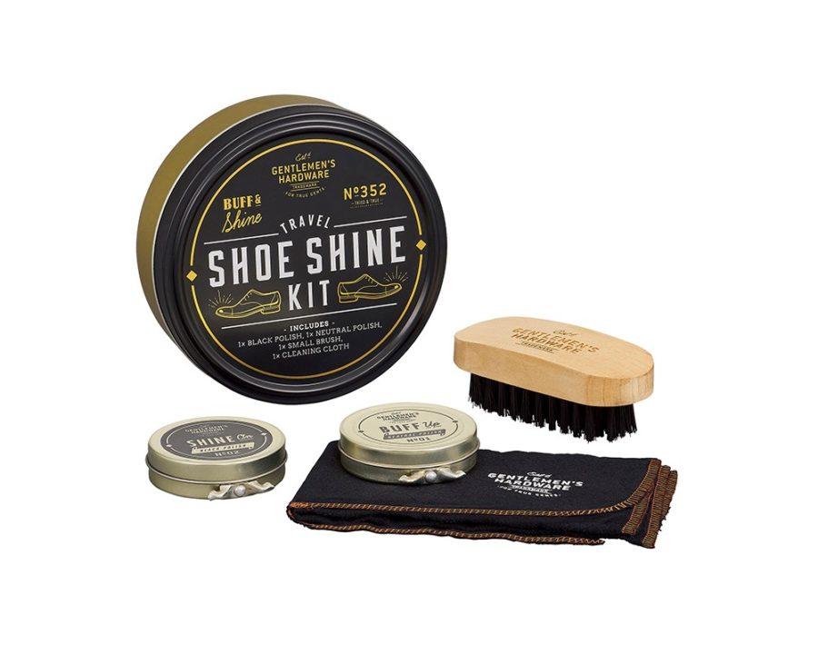 Gentlemen's Hardware - Shoe Shine Kit