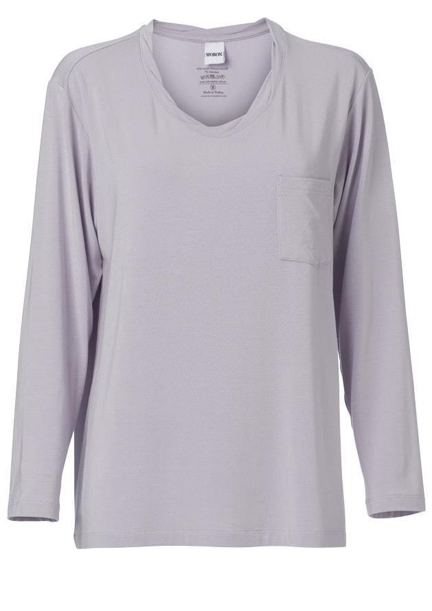 Woron - Loungewear Top, Misty Lilac