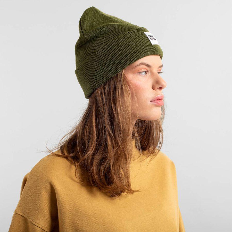 Dedicated - Kiruna Leaf Green Beanie