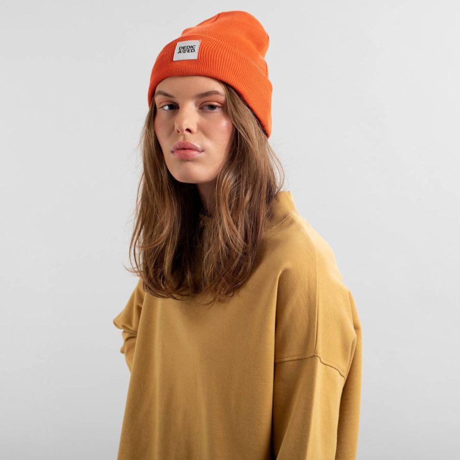 Dedicated - Kiruna Orange Beanie