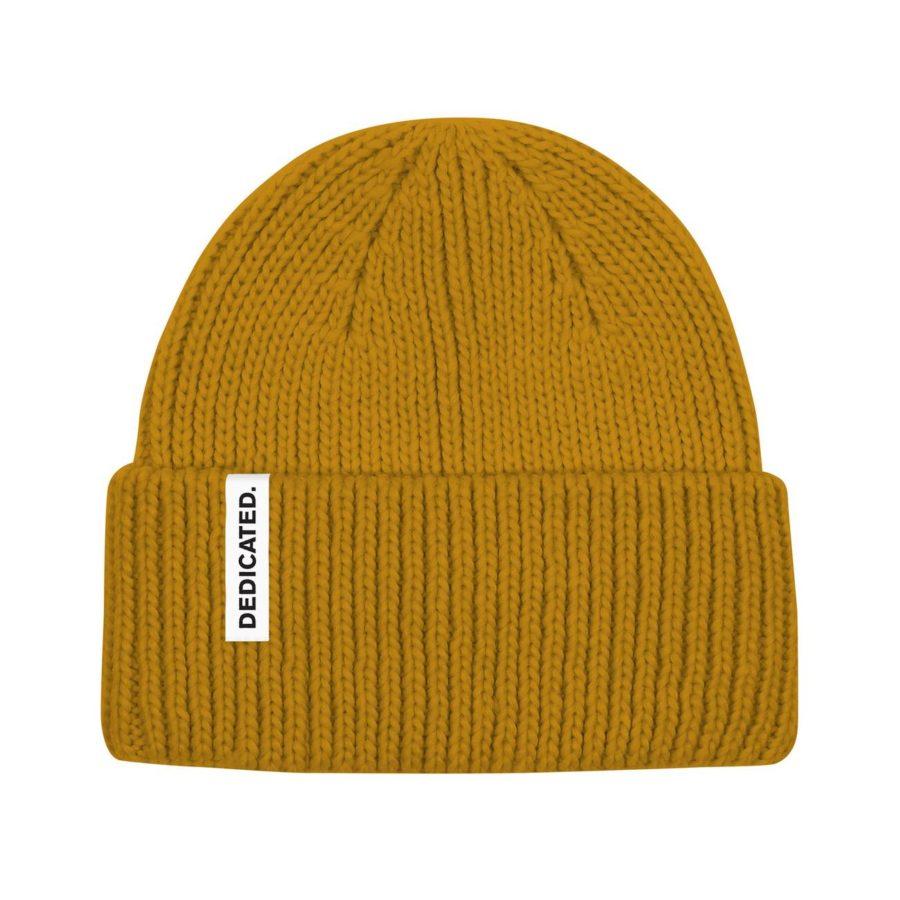 Dedicated - Narvik Golden Yellow Beanie