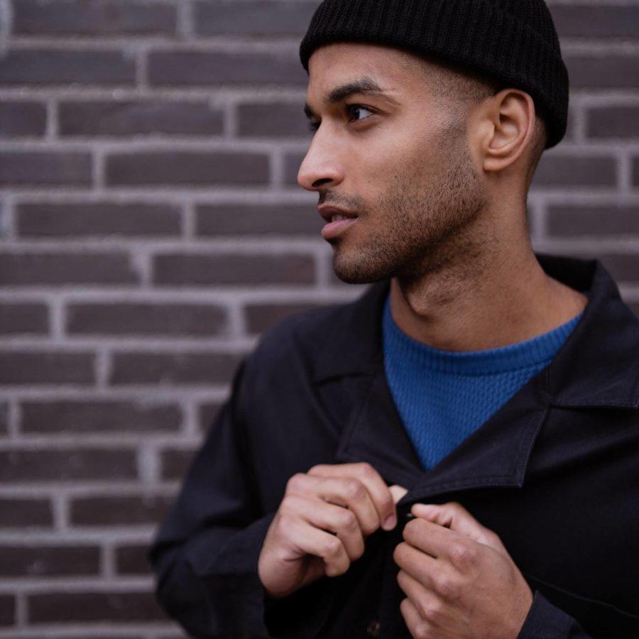Dedicated - Black Workwear Jacket