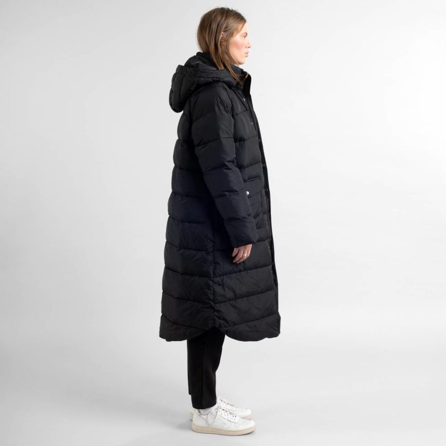 Dedicated - Puffer Jacket, Black