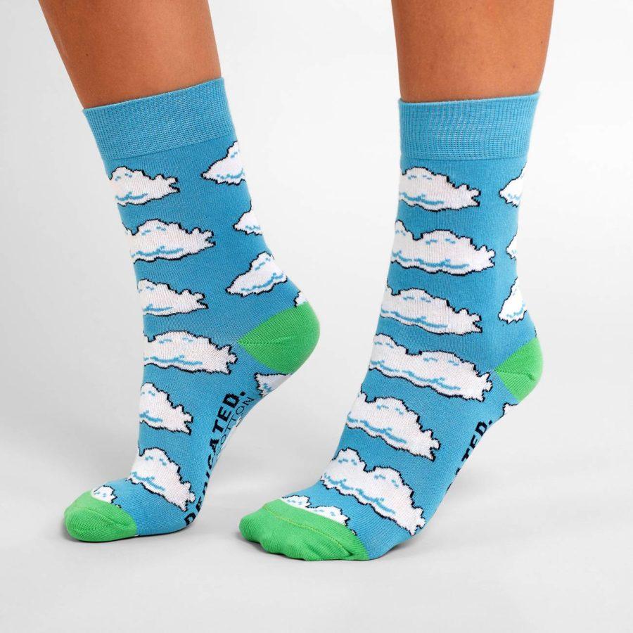 Dedicated - Clouds Socks