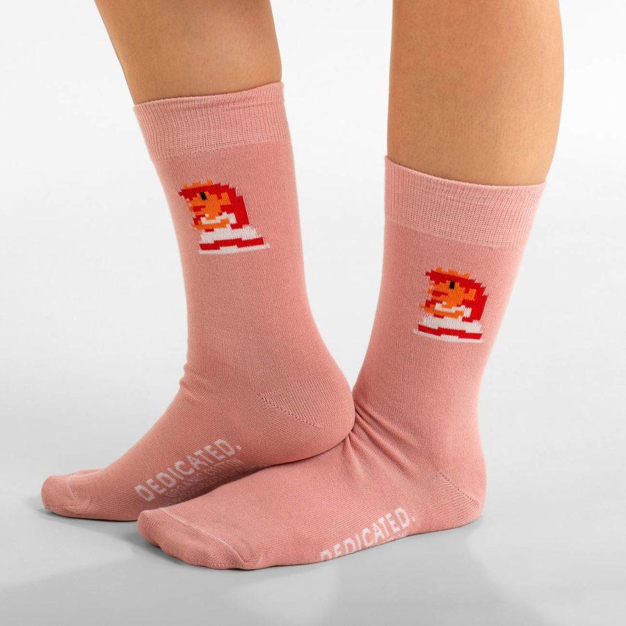 Dedicated - Peach Socks