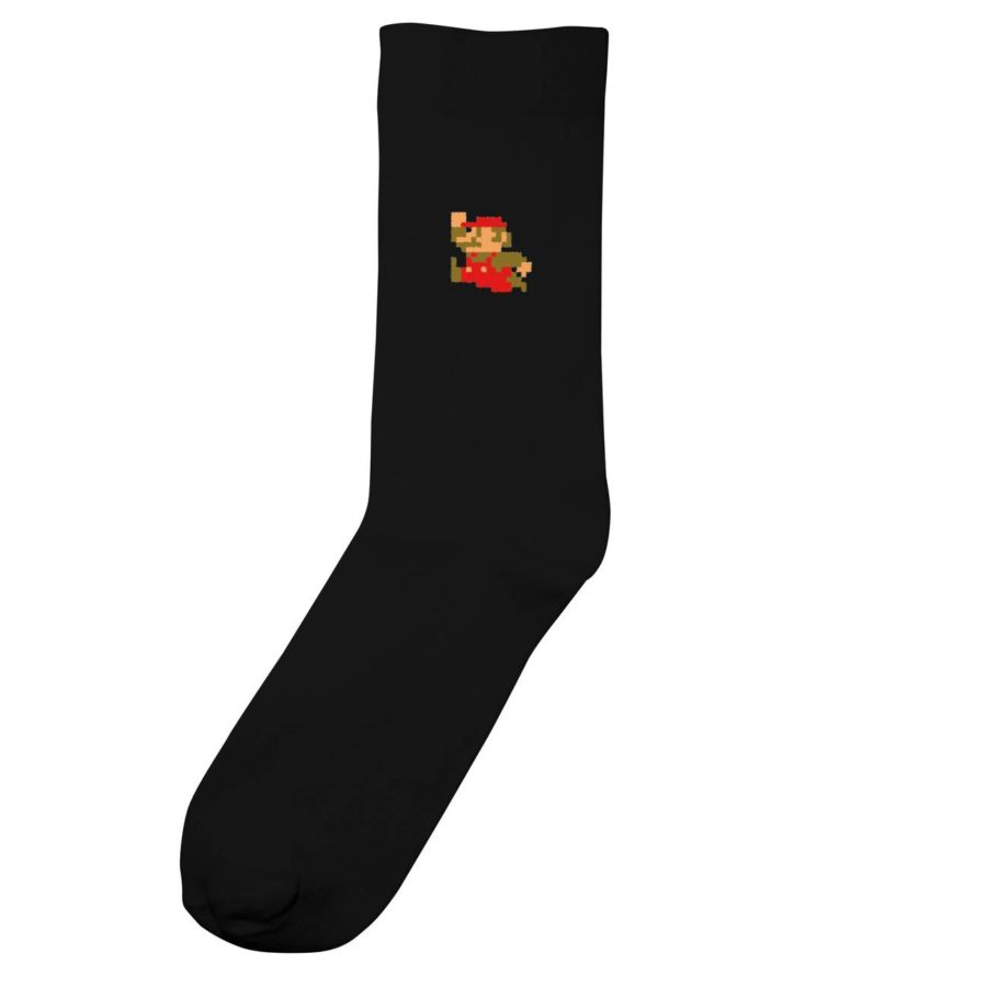 Dedicated - Super Mario Socks