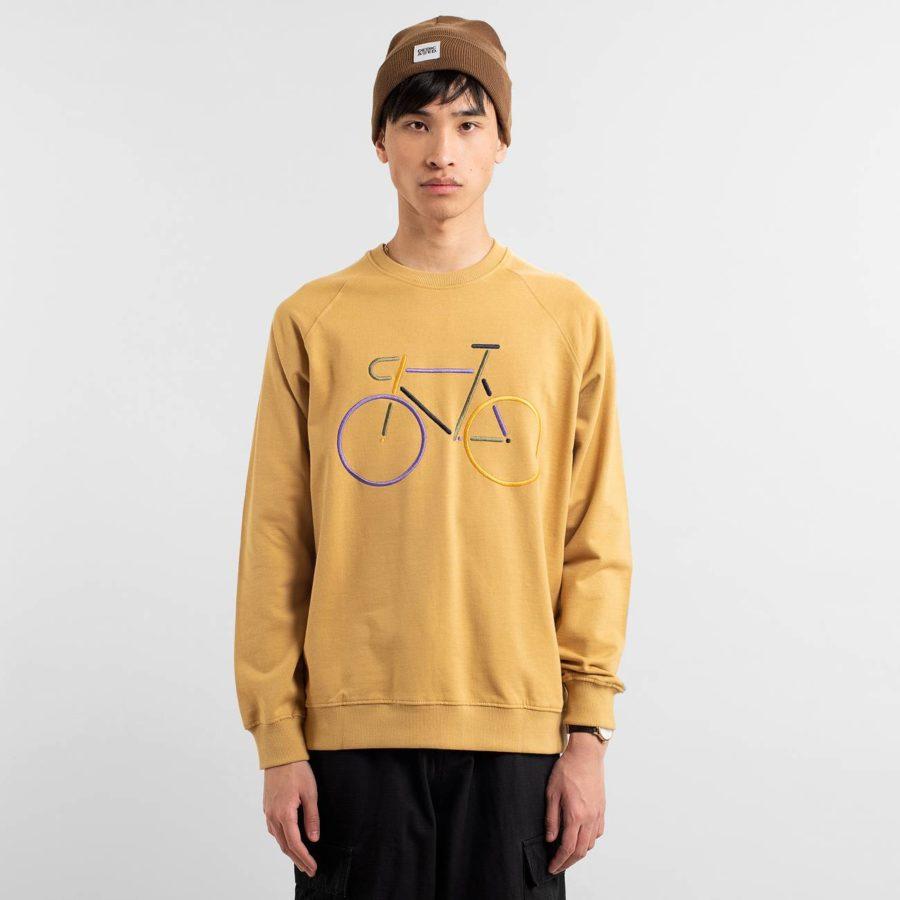 Dedicated - Beige Bike Sweatshirt