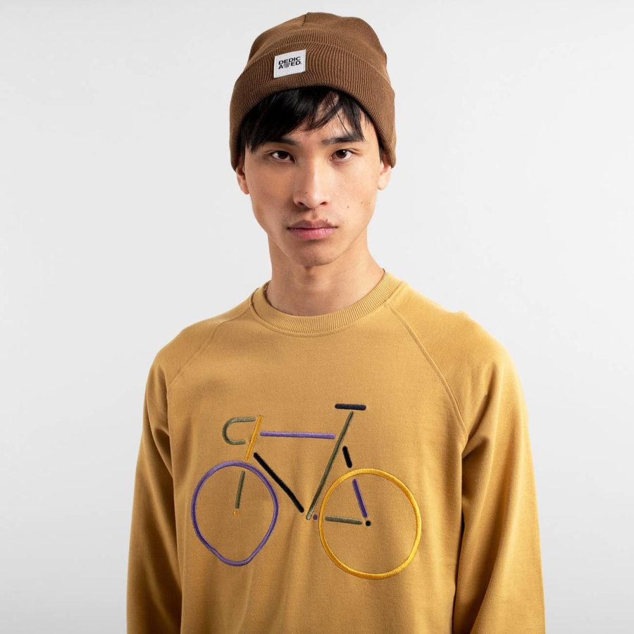 Dedicated - Beige Bike Sweatshirt