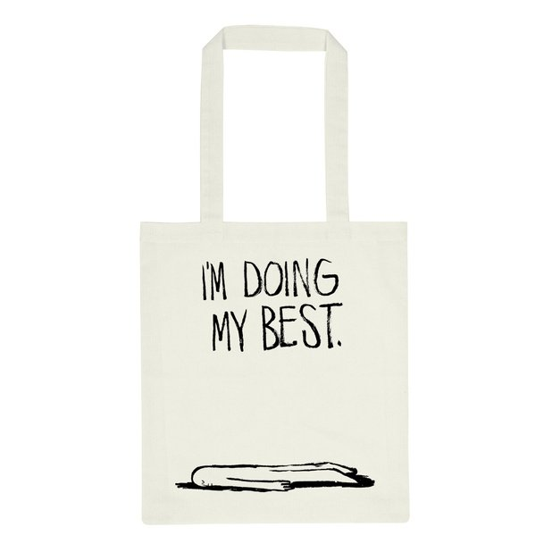 Dedicated - Tote Bag, Doing My Best
